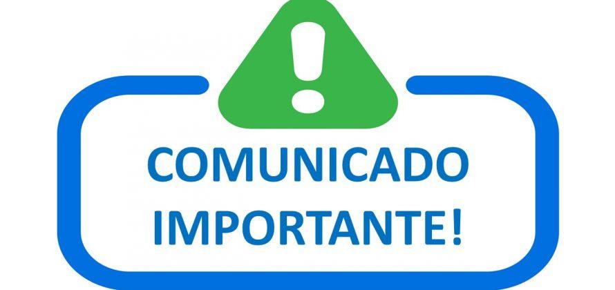 Comunicado – Alerta de fraude!