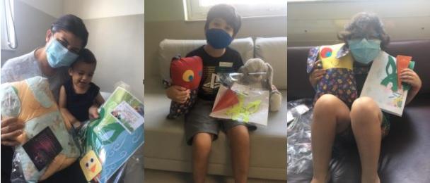 Voluntariado do Instituto PENSI promove ação lúdica de Páscoa para pacientes do Hospital Infantil Sabará